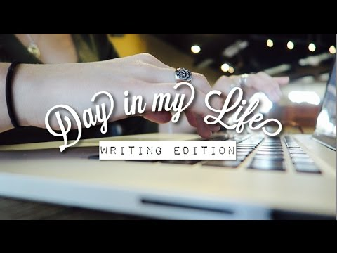Coffee Shop Writing Vlog!