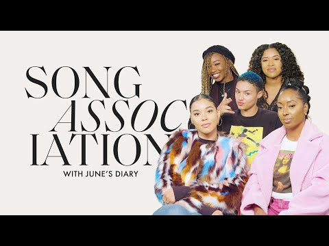 June's Diary Sings Beyoncé, En Vogue And Katy Perry In A Game Of Song Association | ELLE