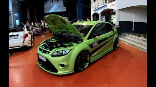 FORD FOCUS RS TUNING SHOW CAR ! 3RD GEN. ! GREEN COLOUR ! WALKAROUND