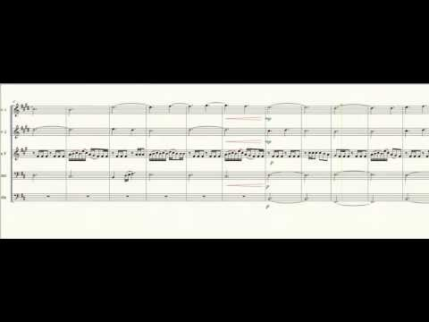 "Skyrim Theme for Brass Quintet - ""Dragonborn"""