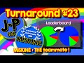 Agario Team Mode Turnaround #23, 10K cell with the help of MISKINE, THE teammate