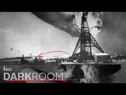 The first aviation disaster caught on film