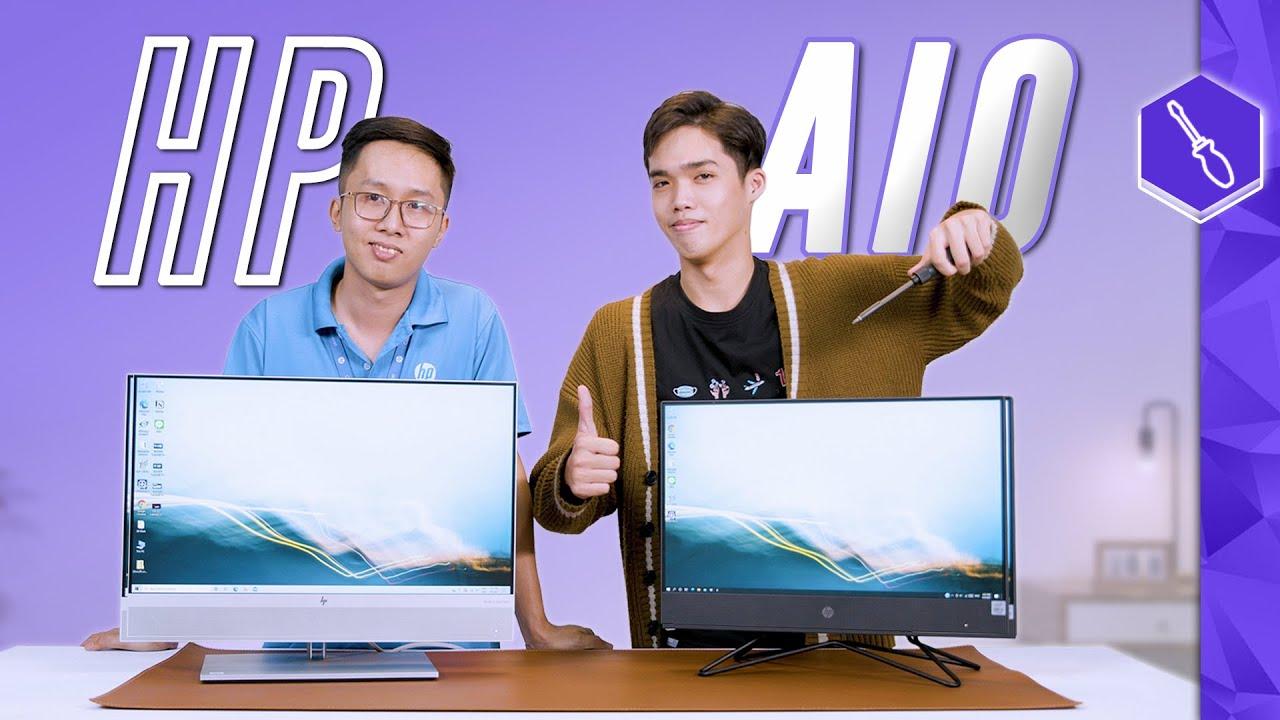 """""""Nội Soi"""" HP AIO: HP EliteOne 800 G6 và HP 200 Pro G4   Thế Giới Laptop"""