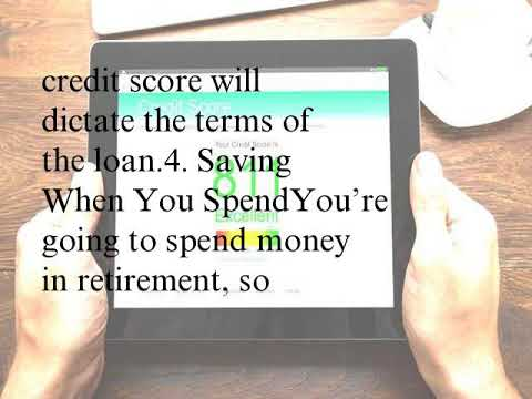 7 Ways to Use a Strong Credit Score During Retirement