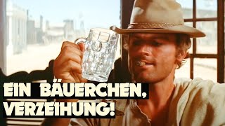 """""""My Name Is Nobody"""" with Terence Hill - Drinking game in the saloon"""