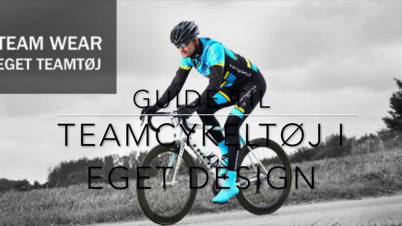 2b225726 Team cykeltøj med tryk. Design cykeltrøje med eget logo til dit firma / hold