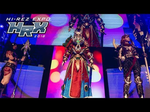 Hi-Rez Expo 2018 - Cosplay Competition Results Show