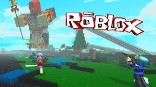 ROBLOX LET'S PLAY GIANT SURVIVAL ( RADIOJH GAMES - MICROGUARDIAN