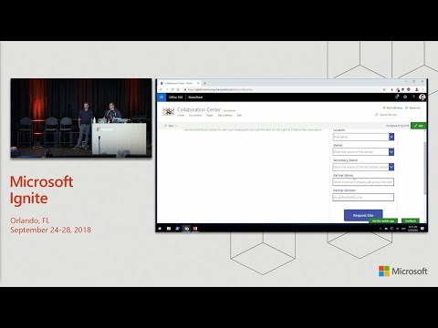 From start to finish: How to create your modern SharePoint site provisioning solution - BRK3273