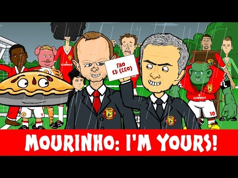 JOSE MOURINHO is the new MAN UNITED MANAGER! (Louis van Gaal sacked!)