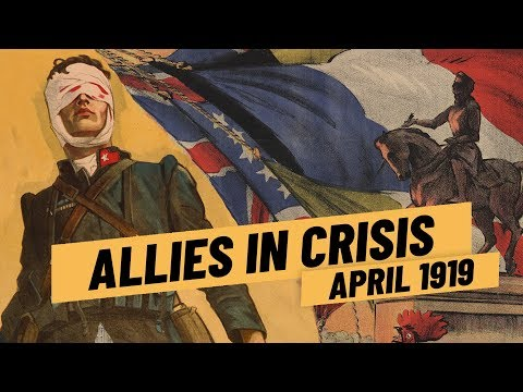 Mussolini And D'Annunzio On The Rise - Allies In Crisis Over Italy I THE GREAT WAR April 1919