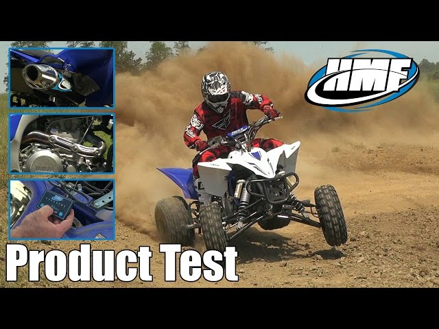 HMF YFZ450R Competition Series Exhaust and Fuel Optimizer Test