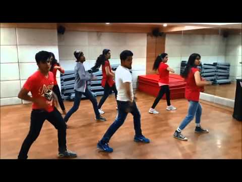 "HR's Dance school presents - ""tu meri"" - bang bang (freestyle dancing)"