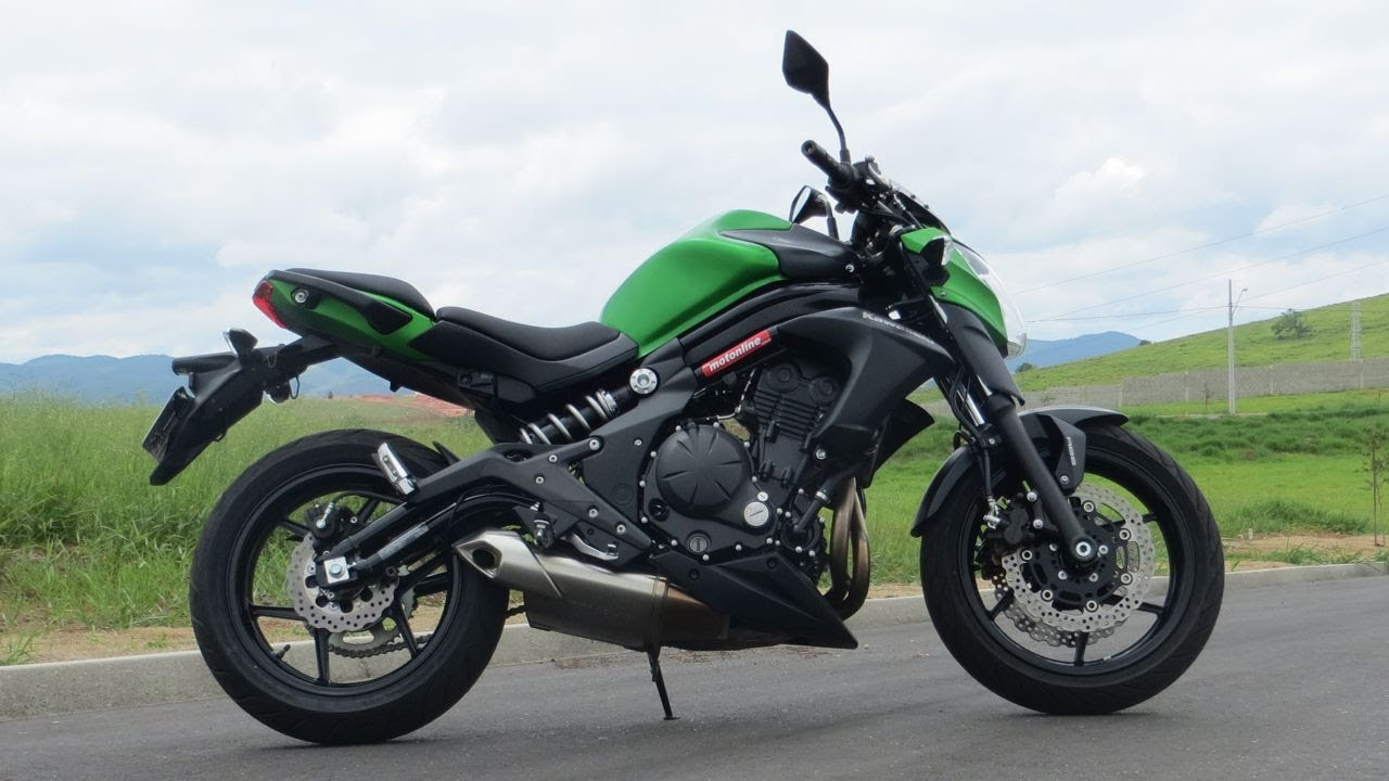 Teste Kawasaki Er6 N Youtube