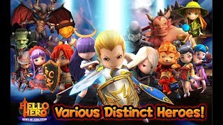 Game Nhập Vai ChiBi 3D Cực Hot | Hello Hero | Top Game Hay Mobile Android, Ios