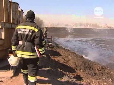 Пожар в Трусовском районе