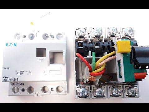 Unboxing i test różnicówki Eaton CFI6-40/4/003