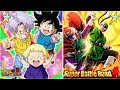 Power of F2P! Rainbow Trunks, Goten & Marron Super Battle Road: DBZ Dokkan Battle