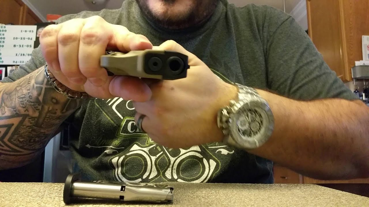 Concealed Carry mod for Beretta Nano 9mm custom carry