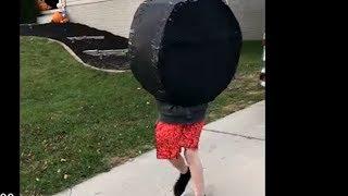 Human Wheel goes on an adventure