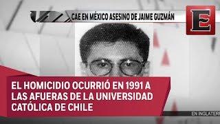 Cae en México asesino de Jaime Guzmán