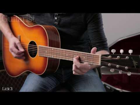 Blues Headlines: Acoustic Flatpicking Lesson