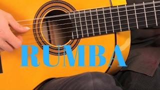 رتم الرومبا الاسباني مع الكوردات | Rumba strumming pattern