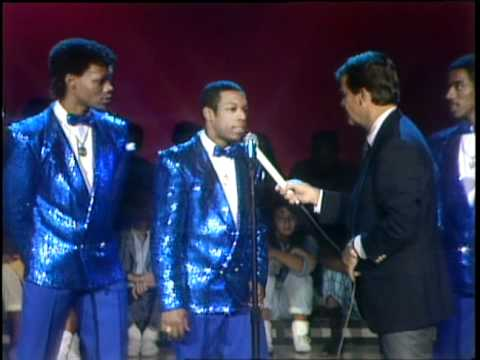 Dick Clark Interviews New Edition - American Bandstand 1986