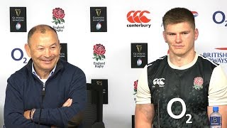 England v France - Eddie Jones & Owen Farrell Full Post Match Press Conference - Six Nations 2019