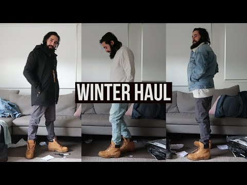 Mens Winter Clothing Haul 2018 | Jackets, Boots, Denim, Pants