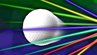 GOLFING WITH TELEPORTING LASER!? (Tower Unite)