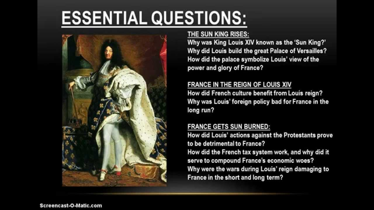 an introduction to the louis xiv reign in france Louis xiv, france's sun king louis xiv, france's sun king, had the longest reign in european history (1643-1715) during this time he brought absolute monarchy to its height, established a glittering court at versailles, and fought most of the other european countries in four wars.