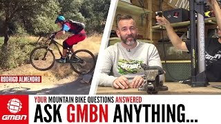 How To Recover/What Bikes Does Neil Have? | Ask GMBN Anything About Mountain Biking