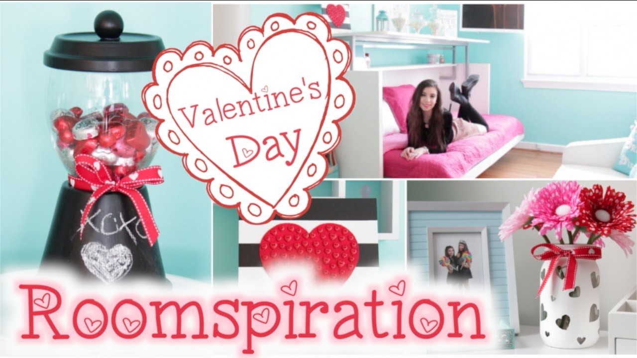 Roomspiration 3 easy diy 39 s decorating my room for - Valentine day room decoration ...