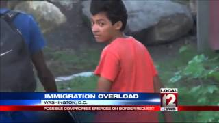 Immigrant kids draining funds