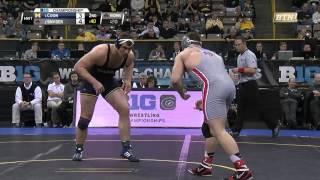 2016 Big Ten Wrestling Championships - Heavyweight  - Coon vs. Snyder