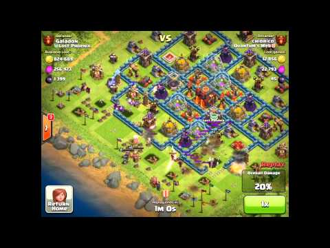 Clash of Clans - You Won't Believe Your Eyes - Amazing Attack from a Top 3 Player