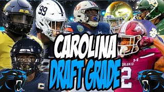 Carolina Panthers 2020 NFL Draft Grade [ALL ROUNDS]