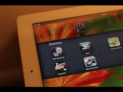 Top 4 Games For Ipad Inc NFS Most Wanted !