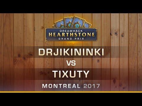 DrJikininki vs Tixuty - Dreamhack Montreal 2017 Round 8