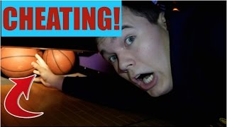 CHEATING AT ARCADE GAMES! NEVER TRY THIS...