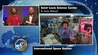 Expedition 56 Education Interview with Saint Louis Science Center - July 18, 2018