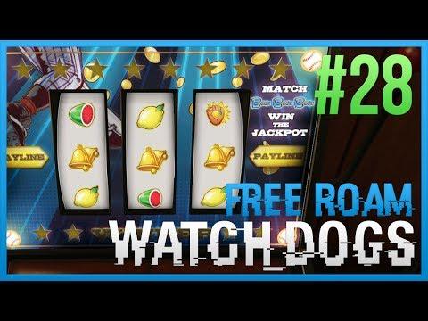 WATCH DOGS Free Roam Gameplay #28 - Gamble Time (WatchDogs Single Player Free Roam) [PC 1080p]