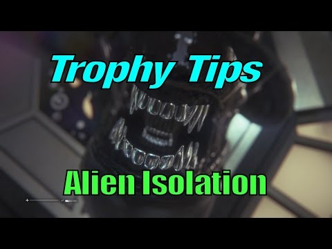 Alien Isolation Platinum Trophy Tips