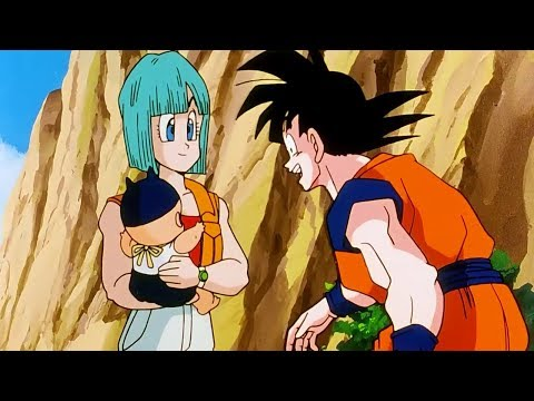 Dragon Ball Z: First Time Meeting Baby Trunks