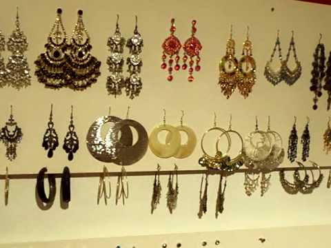 Diy Do It Yourself How To Make A Cheap Easy Earring Holder Organiser Youtube