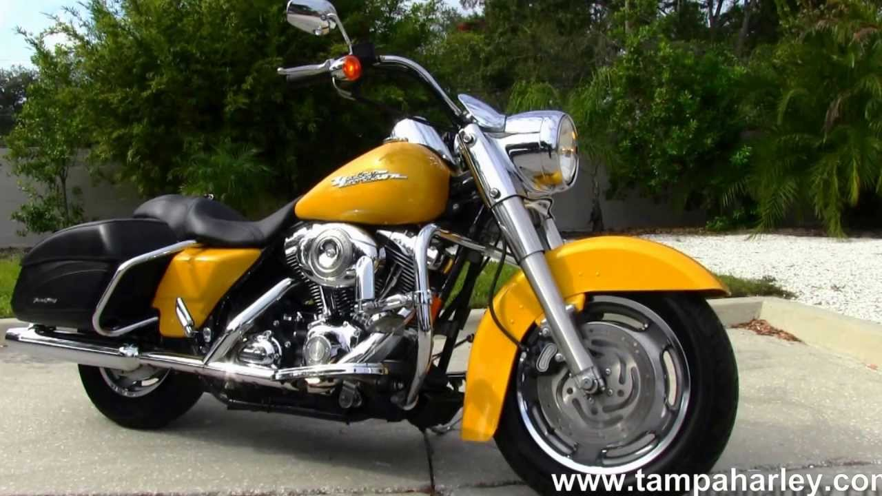 used 2007 harley davidson flhrs road king custom for sale call price specs youtube. Black Bedroom Furniture Sets. Home Design Ideas