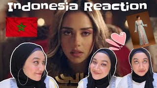 Balqees - Taala Tchouf | INDONESIA REACTION | the Caftan is so Beautiful !!!