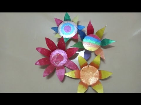 Diy Flowers Made Out Of Paper Cups Youtube