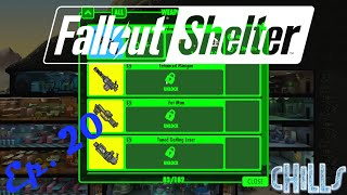 """Fallout Shelter Ep. 20 """"Legendary Weapon Crafting & Paula Blumpkin Nuclear Plant Quest!"""" PC Gameplay"""